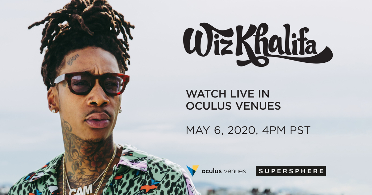 Wiz Khalifa Invites Fans Into His Home to Hear New Music Live