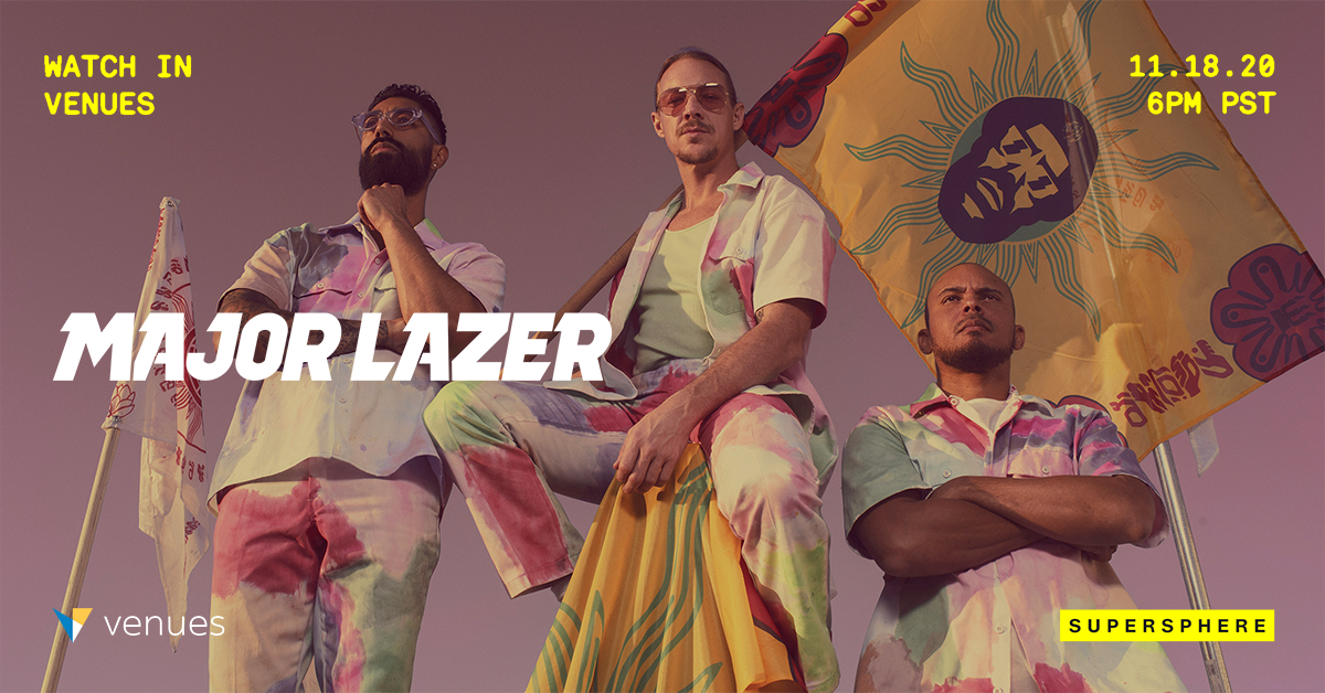 Major Lazer Revives World Tour Through New Venues Performance