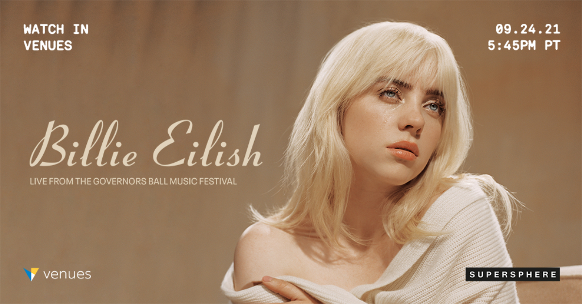 Billie Eilish Makes Her Return to VR, Performing Live from Governor's Ball